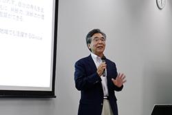 講演会の様子(福岡捷二教授)
